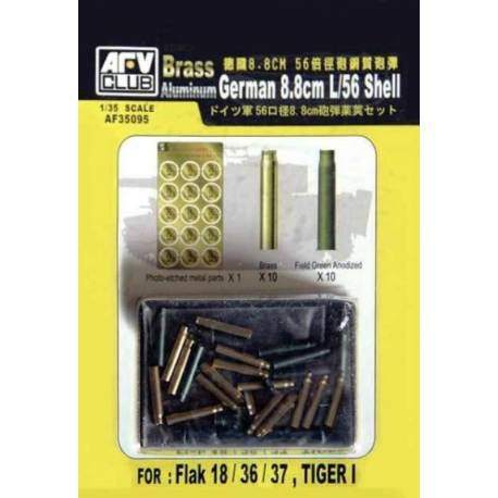 German 8.8cm. L/56 Shell