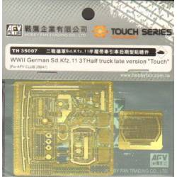 """WWII German Sd.Kfz.11 3T Half Truck late version """"Touch"""""""