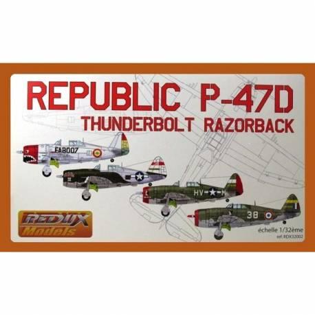 "REPUBLIC P-47 D6 THUNDERBOLT "" RAZORBACK"""