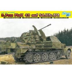 3.7cm FlaK 43 auf Sd.Kfz.7/2
