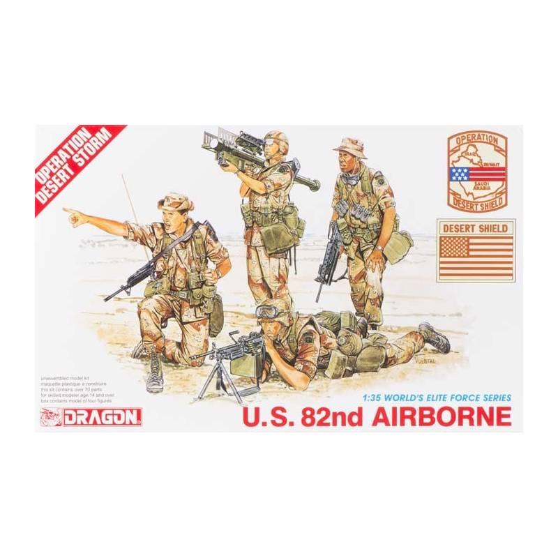 82nd Airborne Division SSI Unisexe en Microfibre pour Tour de Cou NA US Army
