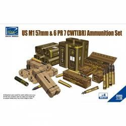 US M1 57mm & 6PR 7cwt (BR) Ammunition Set