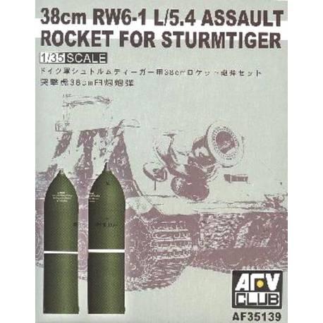 38 cm RW6-1 L5.4 Assault Rocket für Sturmtiger