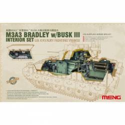 U.S. CAVALRY FIGHTING VEHICLE M3A3 BRADLEY w/Busk III INTERIOR SET