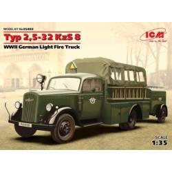 Typ 2,5-32 KzS 8 WW II German Light Fire Truck