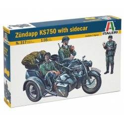 ZUNDAPP KS750 WITH SIDECAR