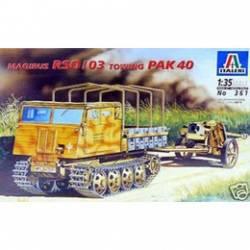 MAGIRUS RSO/03 towing PAK 40 Webou