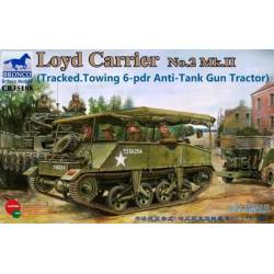 Loyd Carrier No.2 Mk.II (Tracked.Towing 6-pdr Anti-Tank Gun Tractor)
