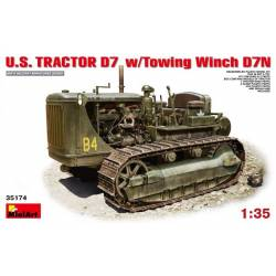 U.S. TRACTOR D7 w/Towing Winch D7N