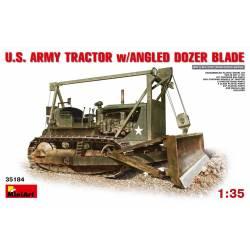 U.S. ARMY TRACTOR w/ANGLED DOZER BLADE