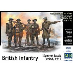 British Infantry Somme Battle period 1916