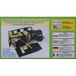 Einheitsdiesel Kfz. 61 Funkkraftwagen (Heavy Radio Van) conversion set