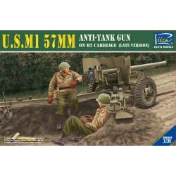 U.S.M1 57mm Anti-tank Gun on M2 carriage (Late Version)