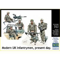 Modern UK Infantrymen, present day