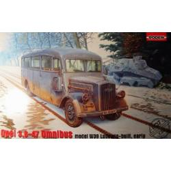 Opel 3.6-47 Omnibus model w39 Ludewig-built early