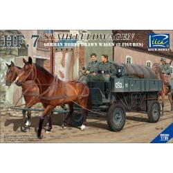 HF.7 Stahlfeldwagen (German Horse drawn Wagon + 2 figures)
