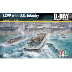 LCVP with US Infantry D Day