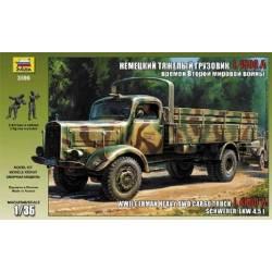 WWII German Heavy 4WD Cargo Truck L 4500 A Schwerer Lkw 4,5 t