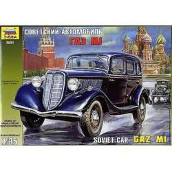 GaZ-M1 Soviet Car