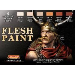 FLESH PAINT SET 6x 22ml acrylic colours