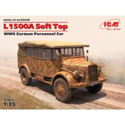 L1500A with Soft Top WWII German Personnel Car