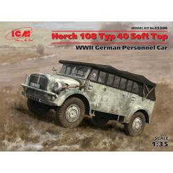 Horch 108 Typ 40 Soft Top WWII German Personnel Car