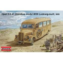 Opel Blitz 3.6 – 47 Omnibus model W39 Ludewig built late