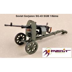 Soviet Gorjunov SG-43 SGM