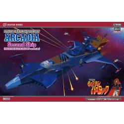 Space Pirate Battleship ARCADIA Phantom Death Shadow