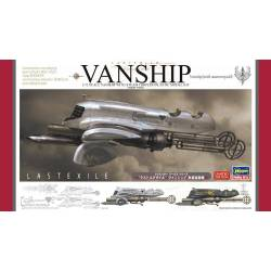 Last Exile Vanship with steam torpedo