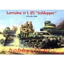 """Lorraine 37 L (f) """"Schlepper"""" 15 Pz.Div. DAK"""