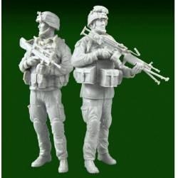 Sergent et tireur Minimi Armée Française 2010