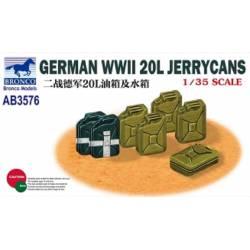 German WWII 20L Jerrycans