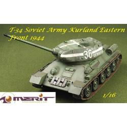 WWII Soviet T-34/85 Kurland Eastern Front 1944