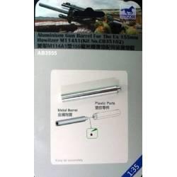Aluminum Gun Barrel For The US 155mm Howitzer M114A1