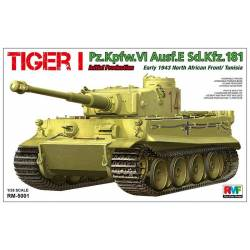 Tiger I Pz.Kpfw.VI Aust.E Sd.Kfz.181 Initial Production, early 1943 North African Front/Tunisia