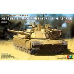 U.S. Main Battle Tank M1A2 SEP Abrams TUSK I / TUSK II / M1A1 TUSK 3 in 1