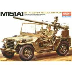 M151A1 with 105mm RECOILLESS GUN