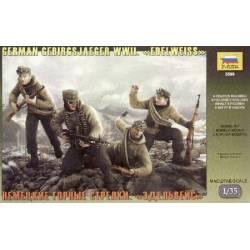German Gebirgsjager WWII Edelweiss