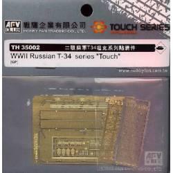 KIT AMELIORATION p/ série des T34 Soviétiques
