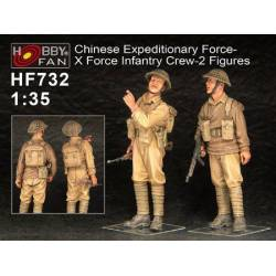Chinese Expeditionary Force- X Force Infantry Crew