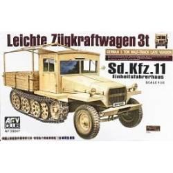 Leichte Zügkraftwagen 3t Sd.Kfz. 11 Einheitsfahrerhaus Half-Track