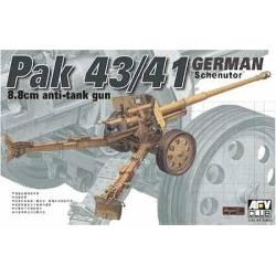"""Pak43/41 GERMAN 8.8cm ANTI-TANK GUN """"Scheuntor"""" with BRASS SHIELD BOLT"""