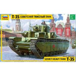 SOVIET HEAVY TANK Т-35