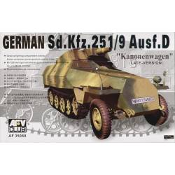 "Sd.Kfz.251/9 Ausf.D Kanonenwagen"" (late version)"