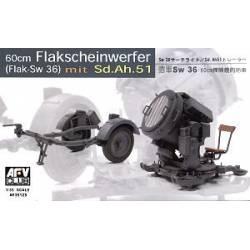 60cm Flakscheinwerfer (Flak-Sw 36) mit Sd.Ah.51