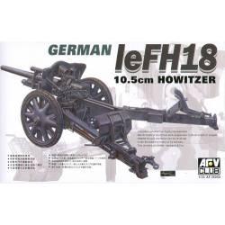GERMAN 10.5cm LeFH18 HOWITZER