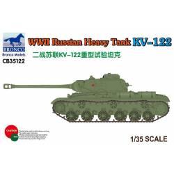 WWII Russian Heavy Tank KV-122