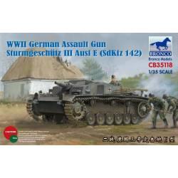 WWII German Assault Gun Sturmgeschutz III Ausf E (SdKfz 142)