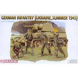 German Infantry (Ukraine, Summer 1943) 1/35ème